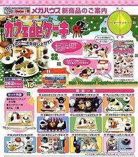Megahouse food tea time set-assorted cakes/teapot drink 10's Re-ment Barbie size
