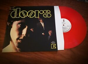 The Doors Self Titled Red Color Vinyl Record Lp Ebay