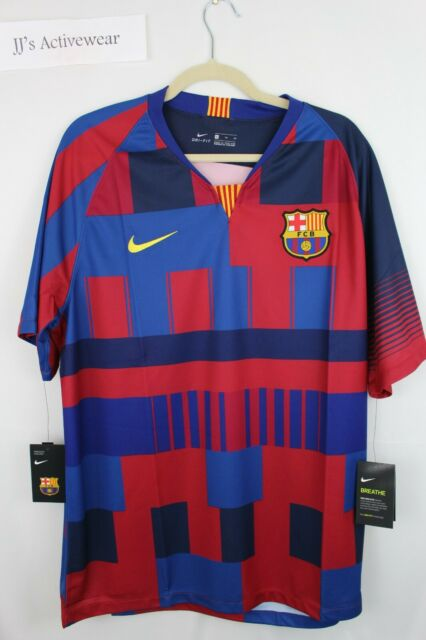 finest selection ccb88 9c223 Mens 2xl Nike FC Barcelona 20th Anniversary Home Stadium Jersey