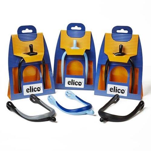 ELICO GENTLE CONTACT PVC PLASTIC LADIES SPURS 15mm ASSORTED COLOURS
