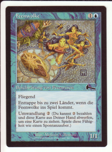 Cycling 4x Cloud of Faeries Feenwolke Urza/'s Legacy