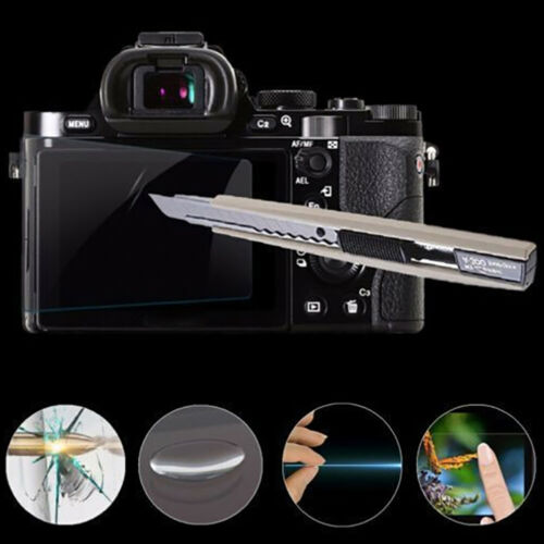 For alpha A6000 A6300 A6500 tempered glass lcd screen protector cover film MHGU