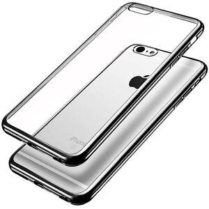 9998f7021fb FUNDA PROTECTOR PANTALLA IPHONE 6S 6 4.7 SILICONA GEL TRANSPARENTE ...