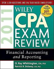 Wiley CPA Exam Review 2011, Financial Accounting and Reporting (Wiley-ExLibrary