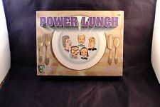 """New 1994 """"Power Lunch"""" The Game Where You Wheel and Deal! by Mayfair NIB NOS"""