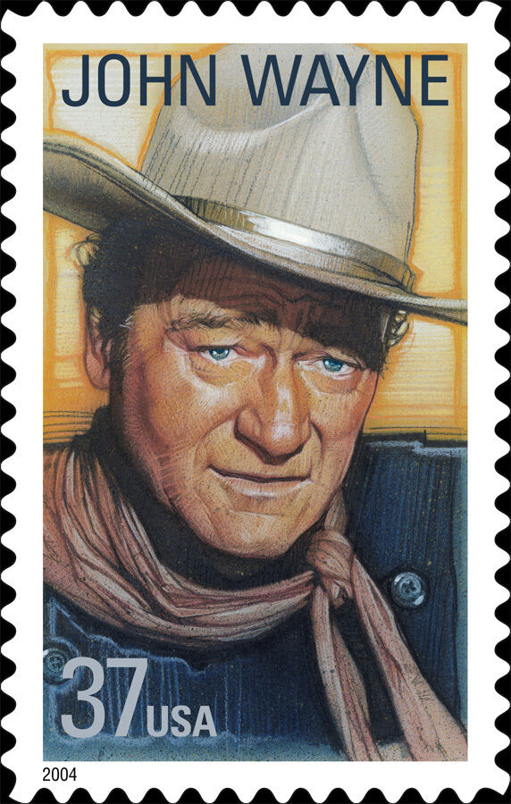 2004 37c John Wayne, American Film Actor Scott 3876 Min