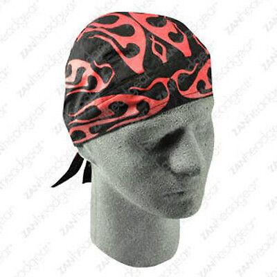 Black with Reddish Tribal  Doorag//Skullcap