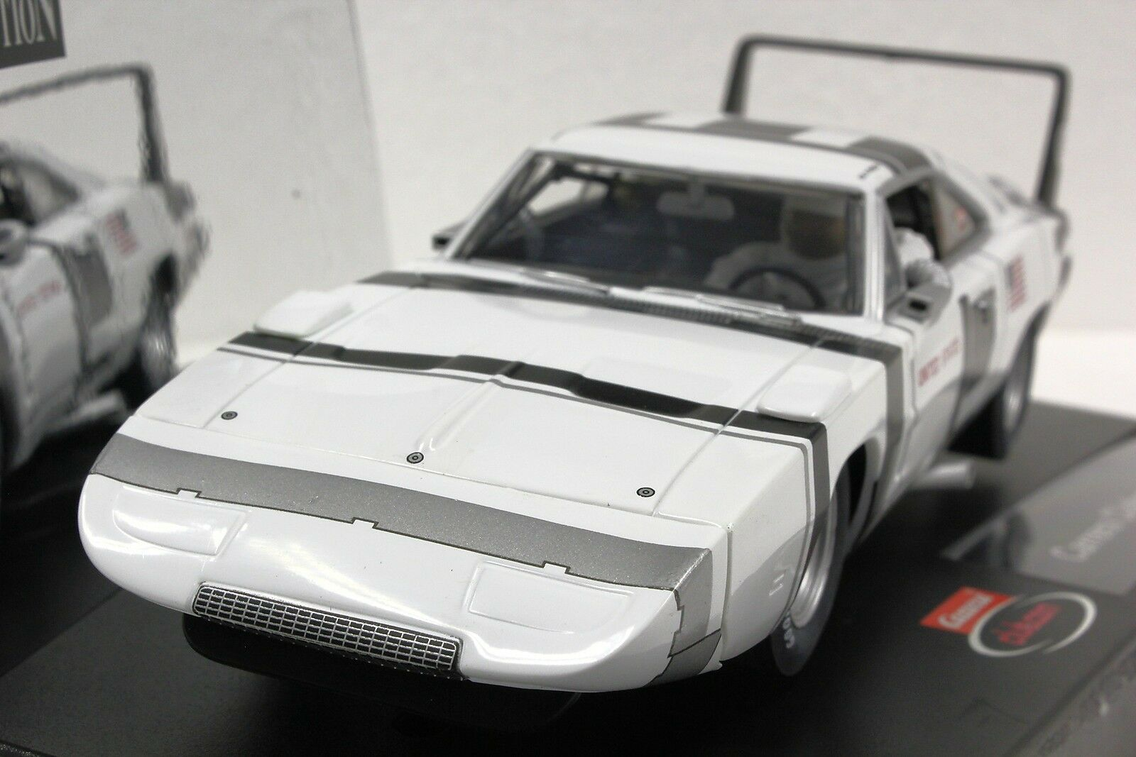CARRERA 25790 DODGE DAYTONA CHARGER 70' NASA CLUB CAR EVOLUTION 1 32 SLOT CAR