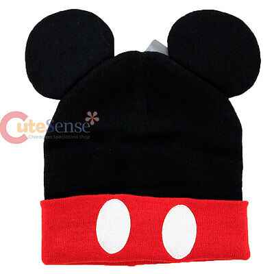 Disney Minnie Mouse Cuff Beanie with 3D Ear Costume Cap Teen-Adult Size