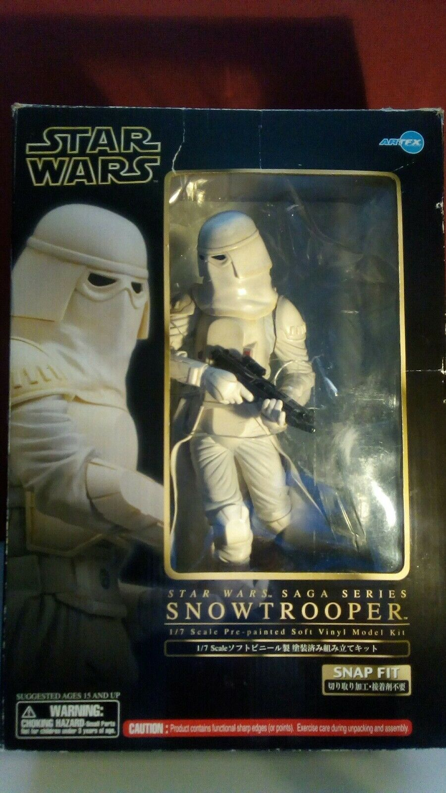 Kotobukiya ArtFX Classic Star Wars Series Snowtrooper 1:7 Figure