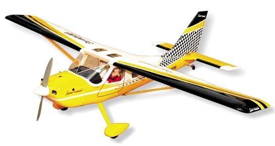 SEAGULL GLASAIR GS-2 SPORTSMAN ARF RC AIRPLANE huge (70.9 in. Wingspan)