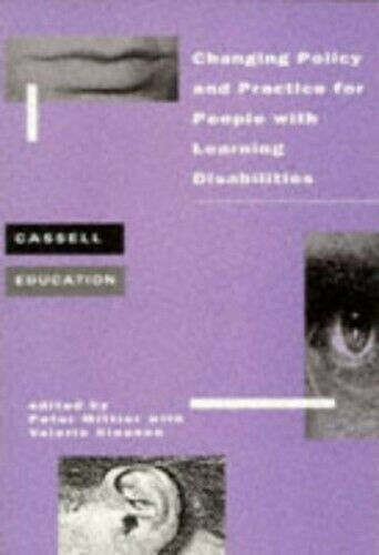 Changing Policy and Practice for People with Learning Disabilities (Cassell Educ