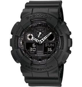 Casio-G-Shock-Analogue-Digital-Mens-Black-XL-Series-Watch-GA-100-1A1-GA-100-1A1D