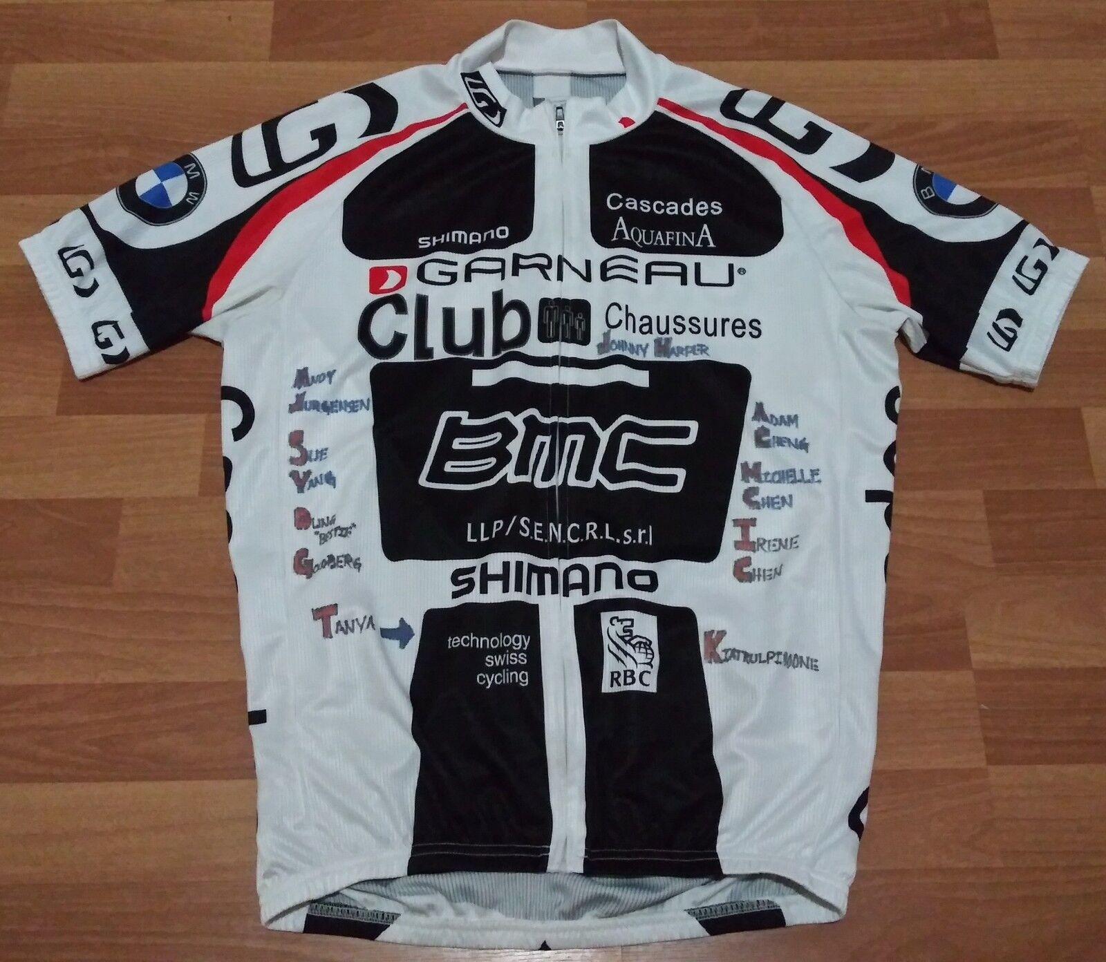 Louis Garneau Running Sprint Triathlon  Club LA Cycling Jersey BMW Medium