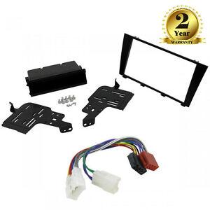 Autoradio Einbau-Set, Oberschale Adapter Verkabelung ISO Kabel für ...