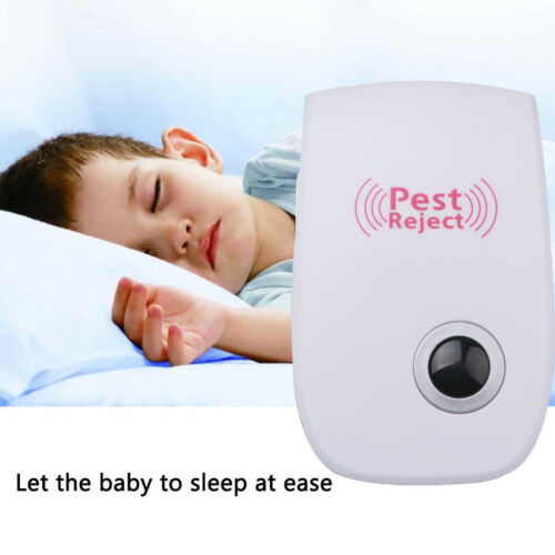 3 Pack Ultrasonic Pest Repeller Electronic Rat Mouse Mice Spider Pest Control