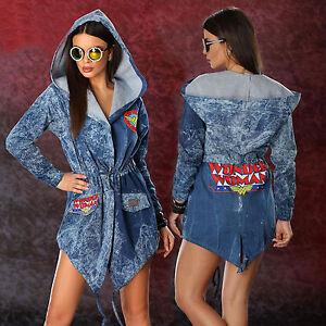 Giacca l Xs Summer da Jeans blazer Denim donna Giacca Comic da donna Ocassion Giacca Jacket ywOmnvN80