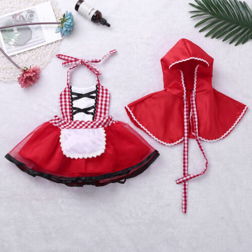 Child Girls Witch Fancy Dress Mermaid Princess Costume Kids Cosplay Party Outfit