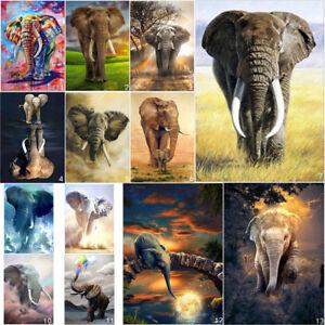 Elephant-DIY-5D-Diamond-Painting-Embroidery-Cross-Stitch-Kits-Home-Decor-Art