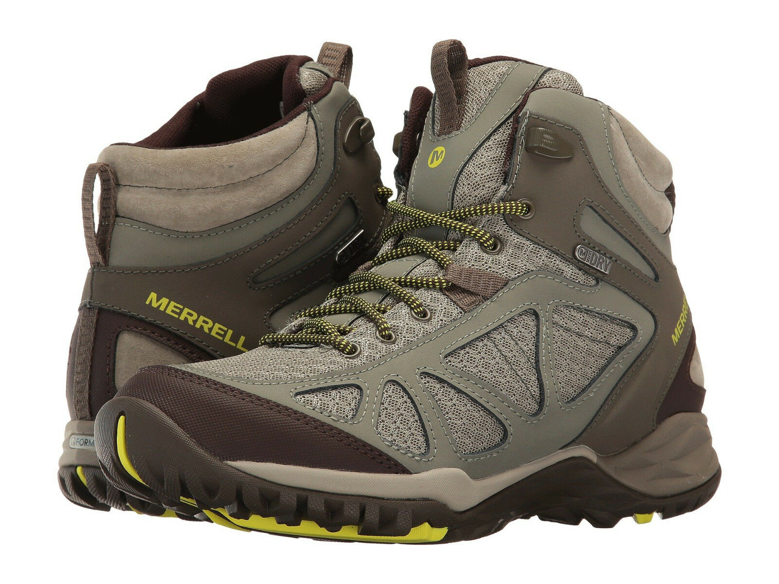 consegna gratuita Merrell donna Siren Sport Q2 Mid Waterproof Ankle Trail Hiking Hiking Hiking Snow stivali  vendita online risparmia il 70%