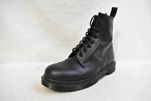 Dr-Martens-1460-MONO-Smooth-Leather-Lace-Up-Boots-Men-039-s-10-Women-039-s-11-EU-43