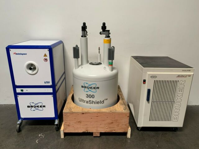 Bruker Digital Nmr Advance 500 Industrial Nuclear Magnetic