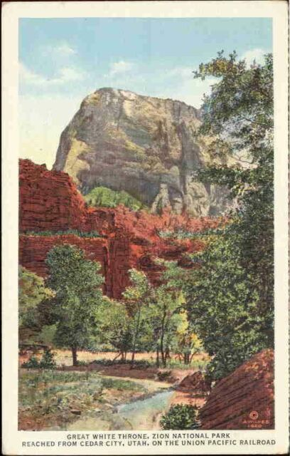(n3i) Zion National Park: Great White Throne