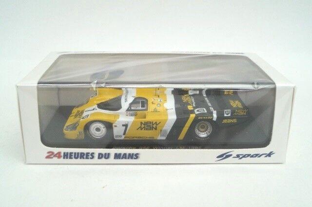 43LM85 Spark 1 43 Porsche 956 Ganador Le Mans 1985 Coches Modelo Coche