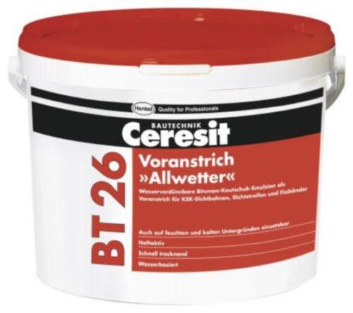 BT 26 Allwetter Voranstrich haftaktiv Ceresit BT 5kg