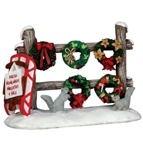 Lemax Decoration Wreaths 4 Sale Squirrels Christmas Cake Decorating Garlands