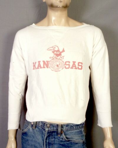 vtg 1920s-1930s 20s 30s Kansas Jayhawks Water Prin