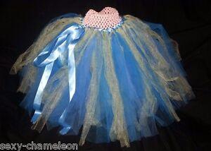 Girls' Clothing (newborn-5t) Blue & Yellow Tulle Tutu Skirt Or Dress Relieving Rheumatism Baby Or Toddler Girl's Pink
