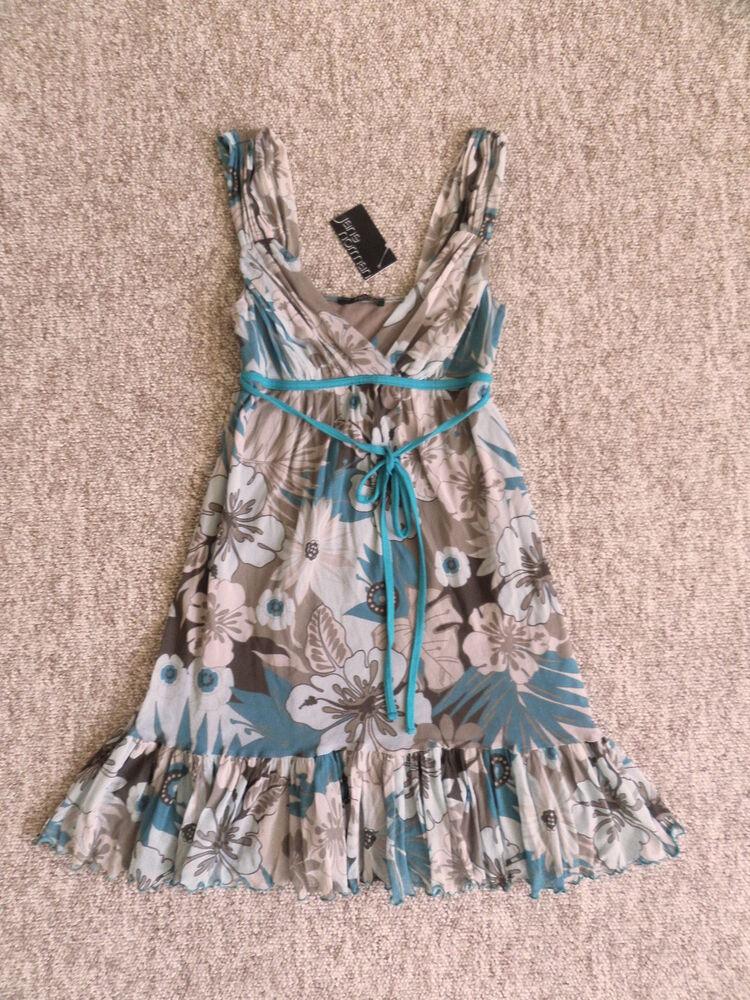 + New Jane Norman Vacances Robe De Mariée Taille Uk 10 Rrp £ 48!