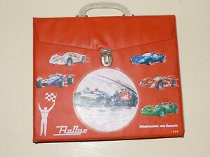 Antikspielzeug Theia 1204 Autokoffer Sammel Koffer Für 24 Matchbox Autos 70er Jahre Rot Hohe Sicherheit