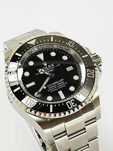 Rolex Sea Dweller Deepsea Referenz 126660 LC100 Full Set Nov 2019