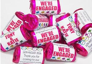 Personalised Love Heart Sweets Engagement Party Theme Ebay