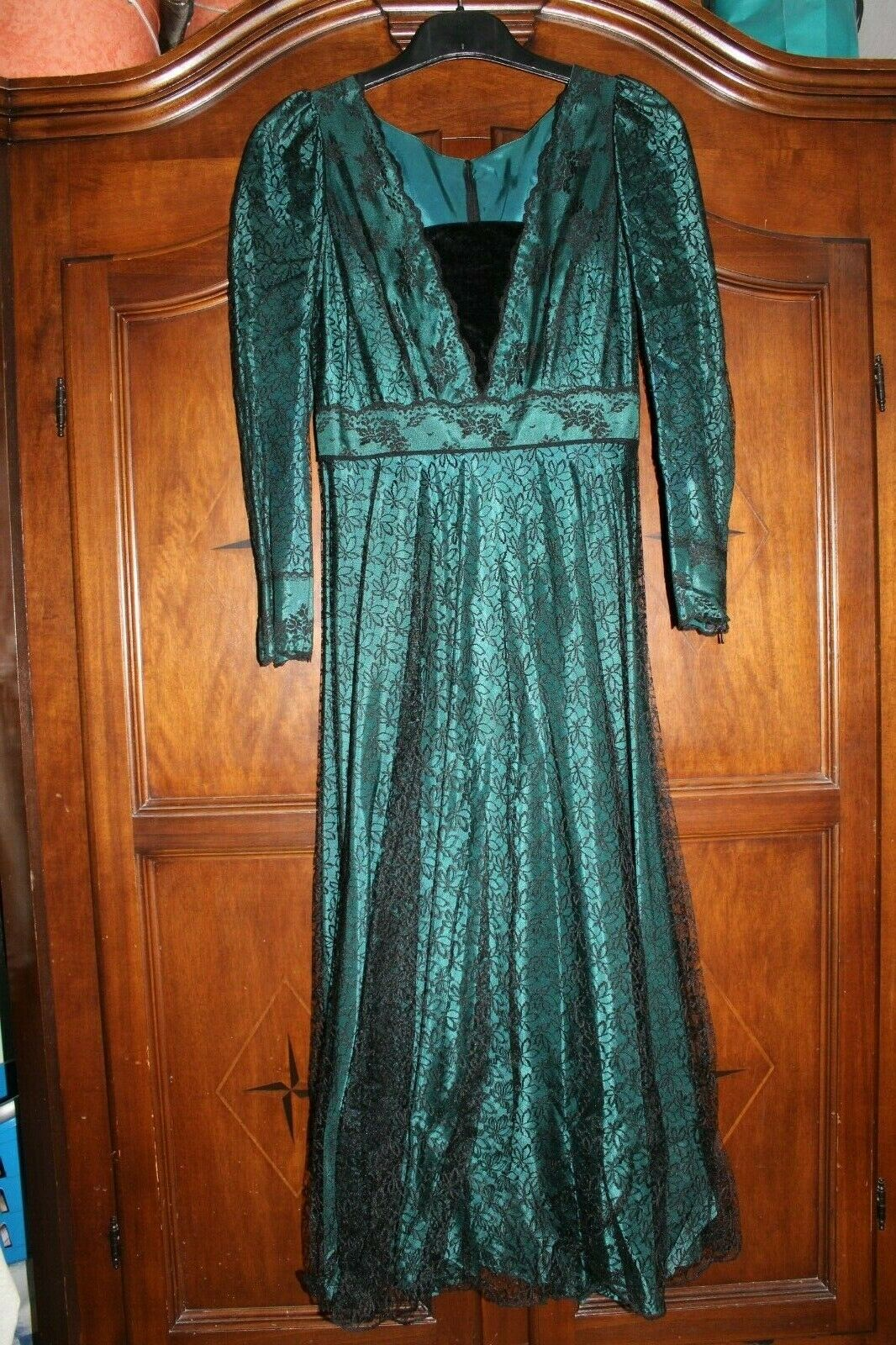 Abendkleid, Spitzenkleid, Größe 40, Vintage
