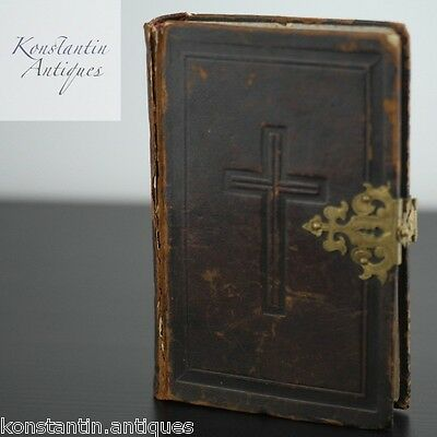 Antique 1836 book Holy echoes. Prayers for Catholic Christians of JS Albach gift