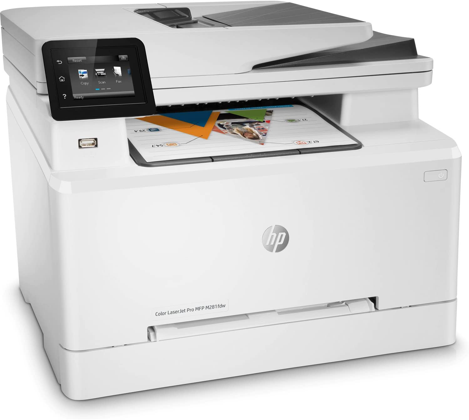 HP M281fdw LaserJet Pro All in One Wireless Color Laser Printer - White. Buy it now for 239.99