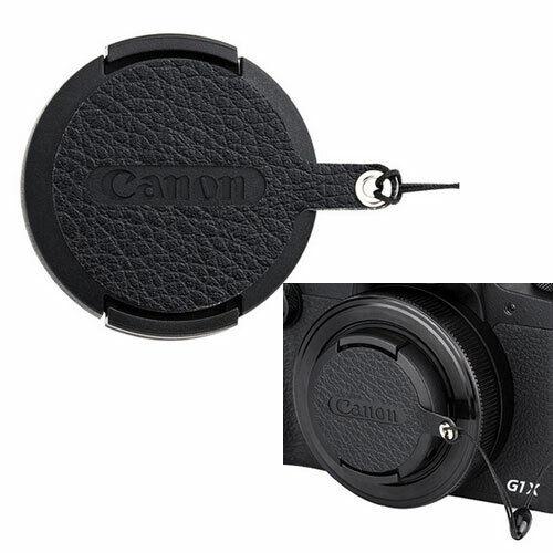JJC CS-C37 Lens Cap Keeper fits Canon PowerShot G1X Mark III 37mm Lens Cap