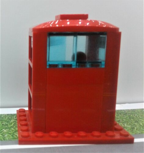 minifigure red Souvenir LEGO British London Telephone Booth city town street