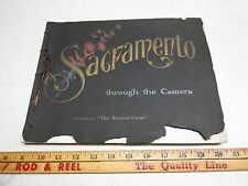 1901 SACRAMENTO Through the Camera Published The Record Union Photo album