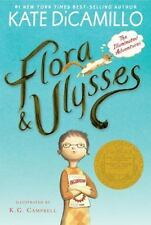Flora and Ulysses : The Illuminated Adventures by Kate DiCamillo (2016, Paperback)