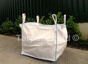 Eine Tonne Fibc Pummeliges Jumbo Taschen Bauarbeiter Garten Trummer