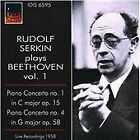 Ludwig van Beethoven - Rudolf Serkin plays Beethoven, Vol. 1 (2010)