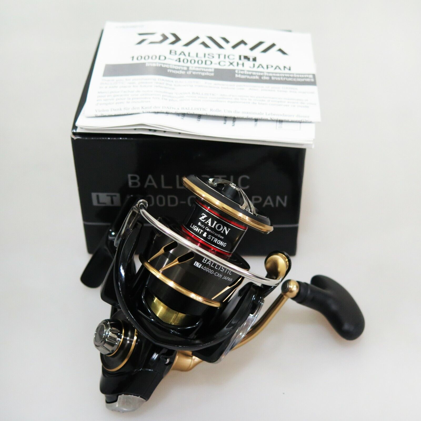 2018 DAIWA BALLISTIC LT 4000D-CXH Japan Spinning Reel Fedex shipping 2days to Us