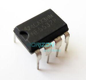 50pcs NE5532P NE5532 Dual Low Noise Op-Amp TI IC DIP-8