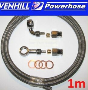 AN-3-universal-brake-hose-1-str-90-deg-chrome-banjos-washers-1m-long-Venhill