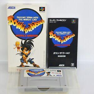 DOWN-THE-WORLD-Super-Famicom-Nintendo-Ascii-sf