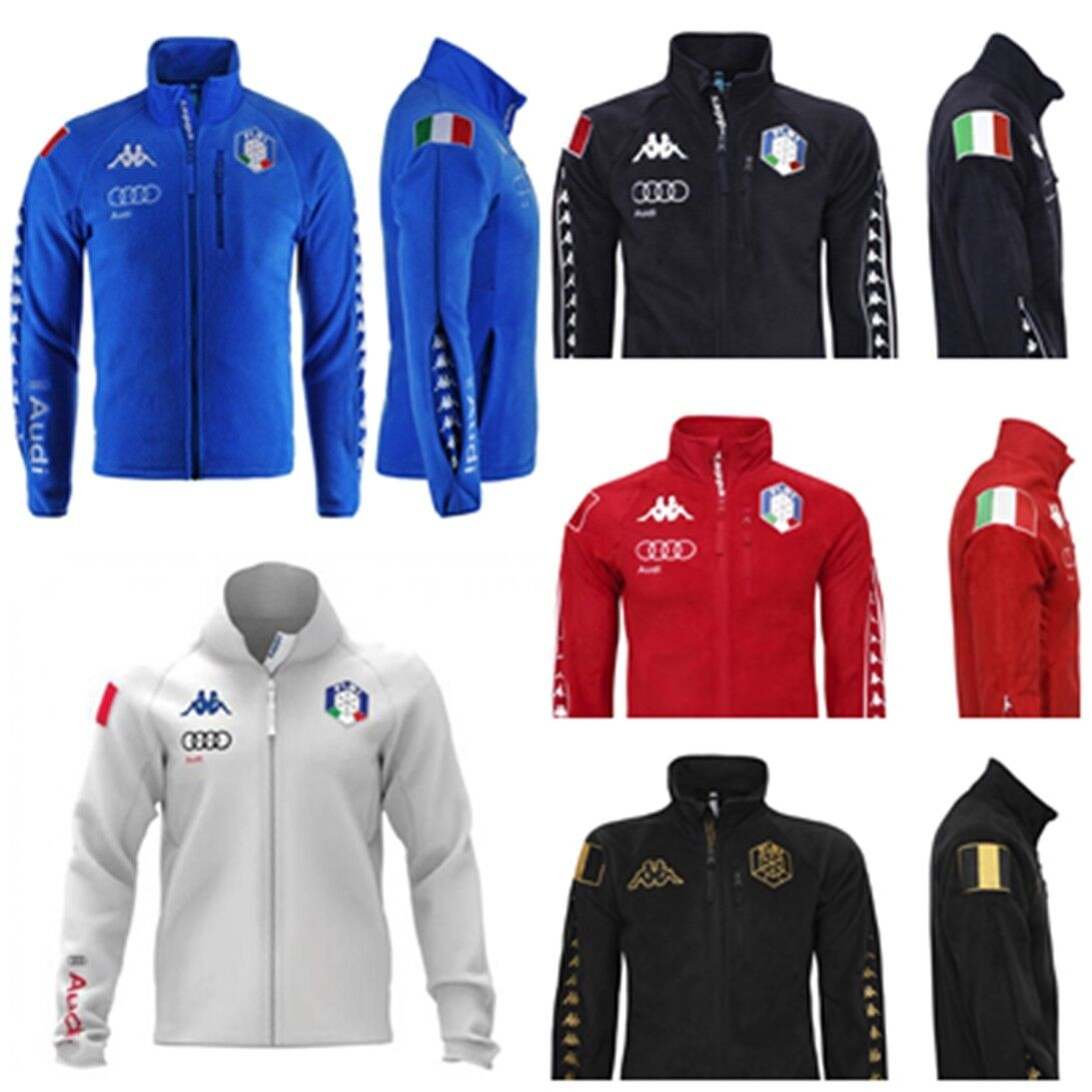 FISI 17-19 KAPPA 6CENTO PILE 687 MASK ITALY SKI FLEECE AUDI  ANTIVENT0 303SAH0